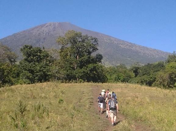 Rinjani trekking summit