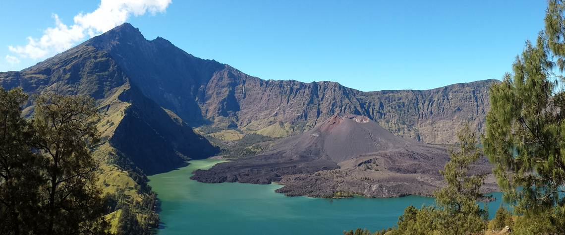 Trek Rinjani to Crater rim Senaru